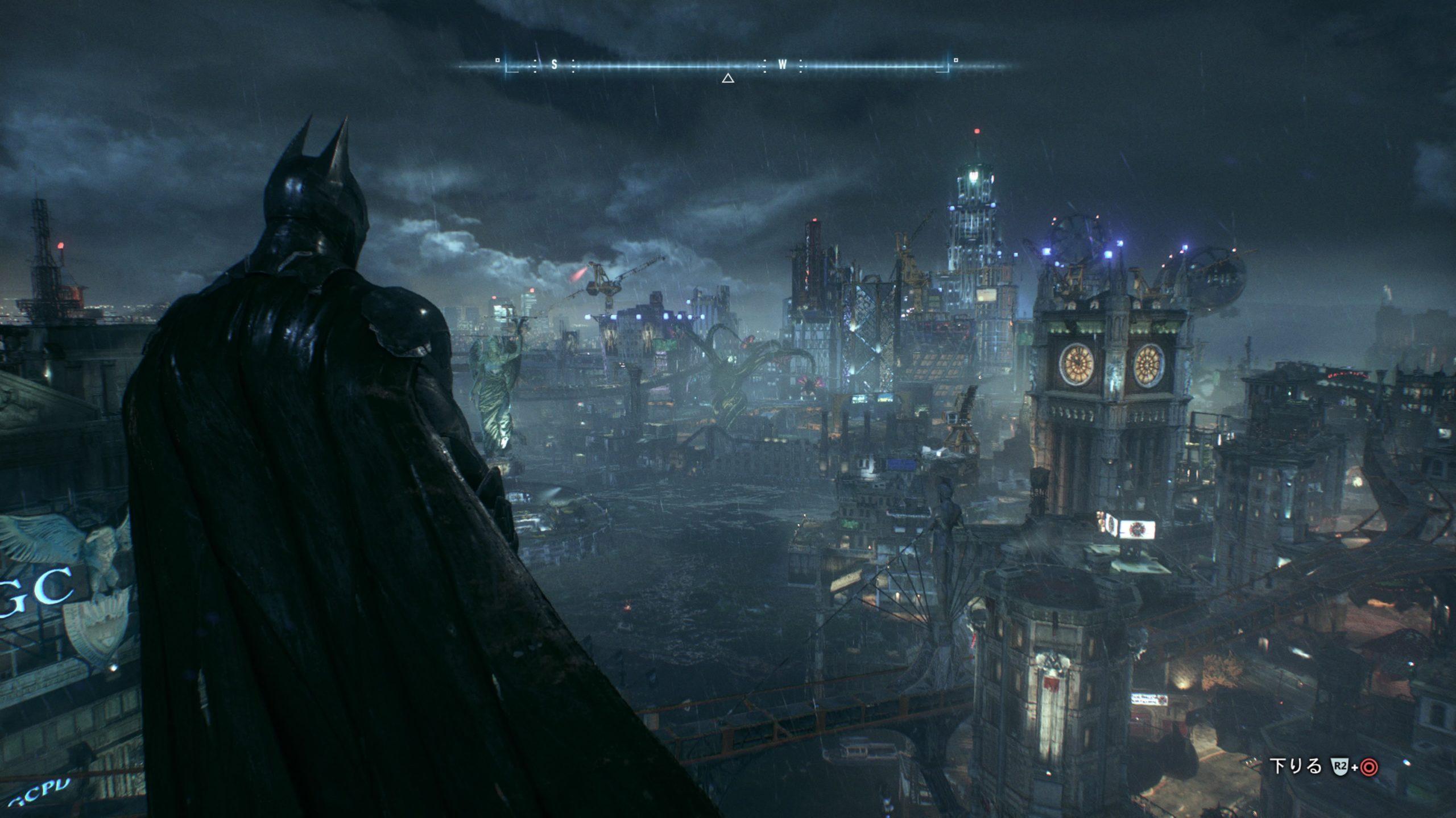 【バットマン : アーカム・ナイト】造り込まれたゴッサムシティは圧巻【アクションアドベンチャー】【レビュー】