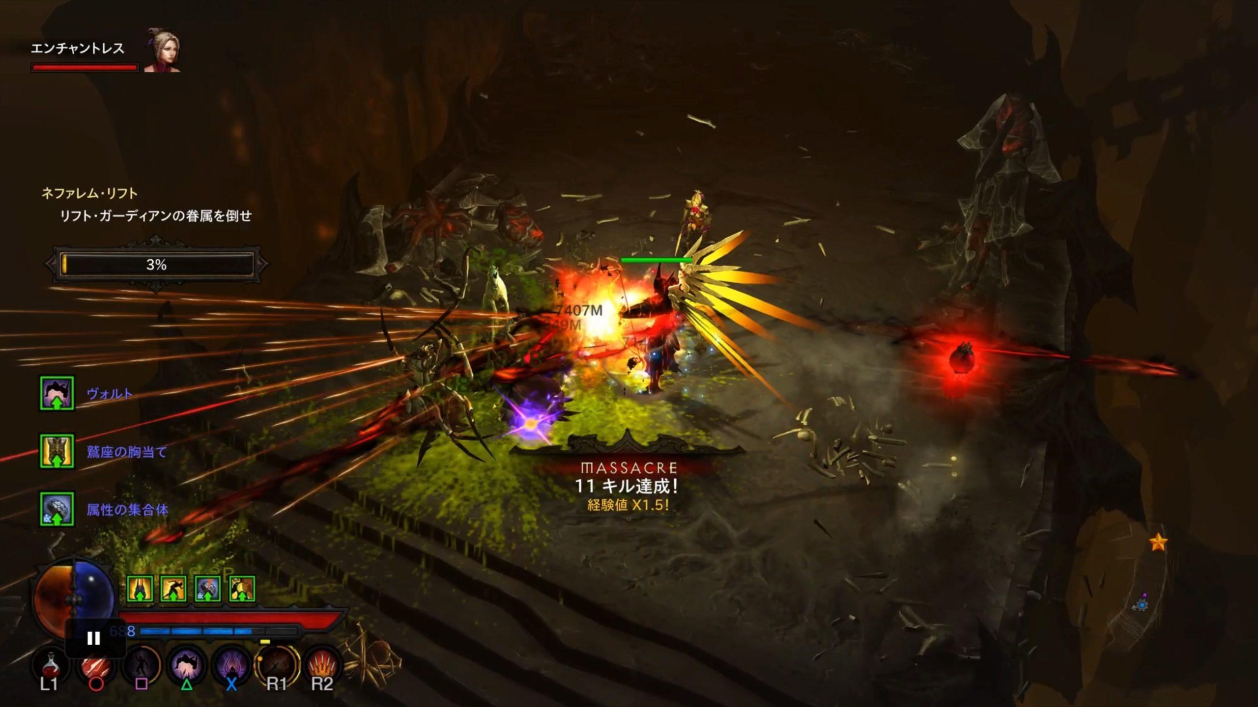 【Diablo III】ハクスラの最高峰【RPG】【レビュー】
